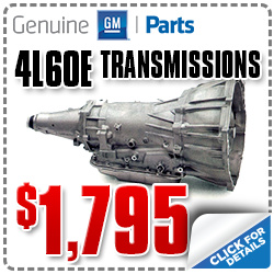 Chevrolet 4L60E Transmission Parts, Discount Coupon, Car Repair, Accessories, Special, Portland, Oregon