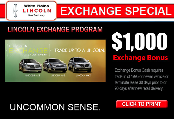 Lincoln Exchange Program Westchester
