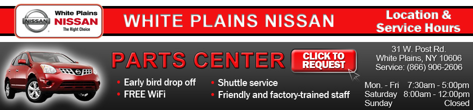 Westchester NY Nissan Parts & Accessories Center
