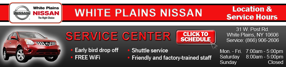 Westchester Nissan Service & Repair Center
