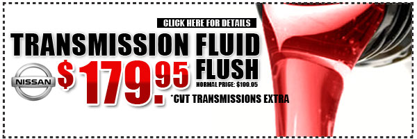 Westchester Nissan Transmission Fluid Flush Service & Maintenance Discount Special serving New York