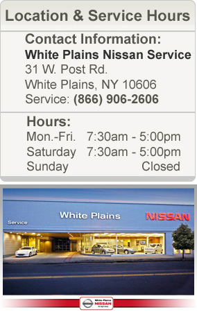 White Plains Nissan Hours & Directions