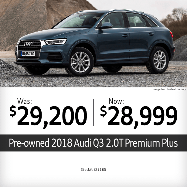Pre-Owned 2018 Audi Q3 2.0T Premium Plus Special in Columbus, OH