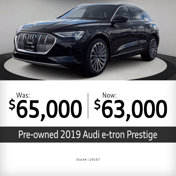 Pre-Owned 2019 e-tron Prestige Special in Columbus, OH
