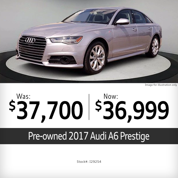 Pre-Owned 2017 Audi A6 PrestigeSpecial in Columbus, OH