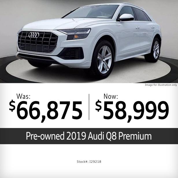 2019Audi Q8 PremiumSpecial in Columbus, OH