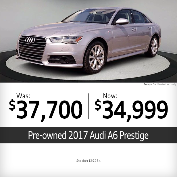 2017 Audi A6 Prestige Pre-Owned Special in Columbus, OH