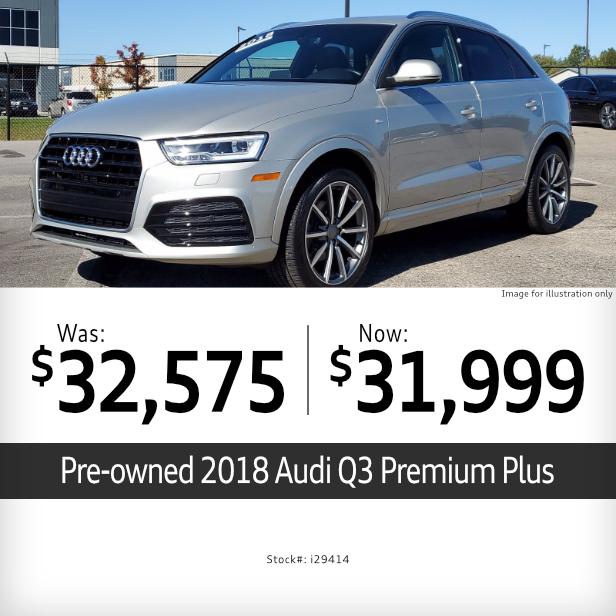 2018 Q3 Premium Plus Pre-Owned Special in Columbus, OH