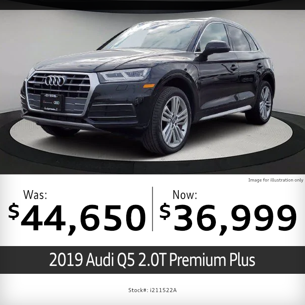 2019 Audi Q5 2.0T Premium Plus Pre-Owned Special in Columbus, OH