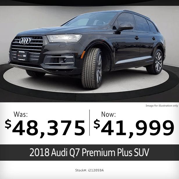 2018 Audi Q7 Premium Plus SUV Pre-Owned Special in Columbus, OH