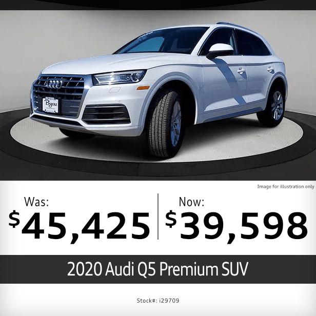 2020 Audi Q5 Premium SUV Pre-Owned Special in Columbus, OH