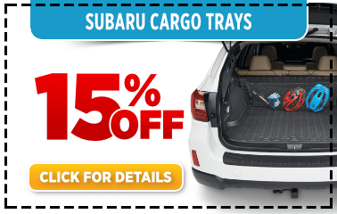 Subaru Cargo Tray Parts Special in Columbus, OH