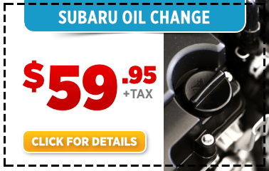 Save on Your Next Genuine Subaru Oil and Filter change Service at  Byers Airport Subaru
