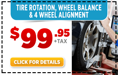 Click to View Our Tire Rotation, Wheel Balance, and 4-Wheel Alignment Service Special at Byers Airport Subaru
