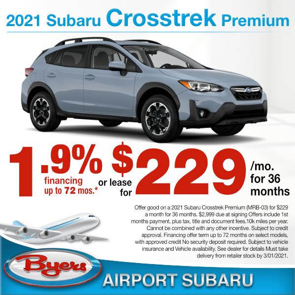 New 2020 Subaru Crosstrek Sale Lease Specials Columbus Ohio