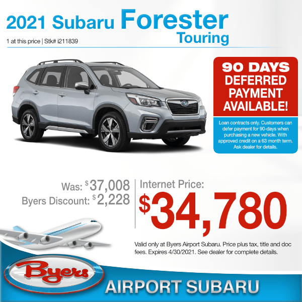 2021 Subaru Forester Touring in Columbus, OH