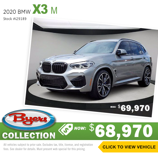 2020 BMW x3 M Sales Special in Columbus, OH