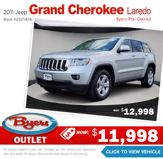 2011 Jeep Grand Cherokee Laredo Pre-Owned Special in Columbus, OH