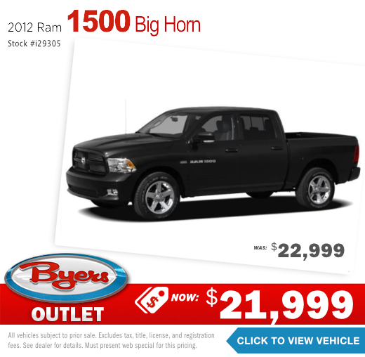 2012 Ram 1500 Big Horn Pre-Owned Special in Columbus, OH