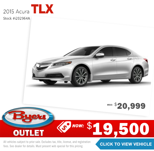 2015 Acura TLX Pre-Owned Special in Columbus, OH