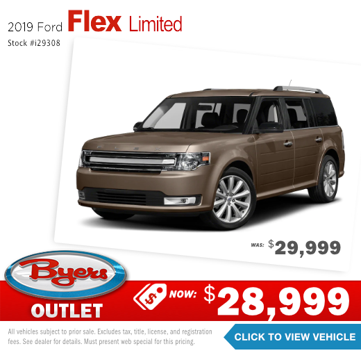 2019 Ford Flex limited Pre-Owned Special in Columbus, OH