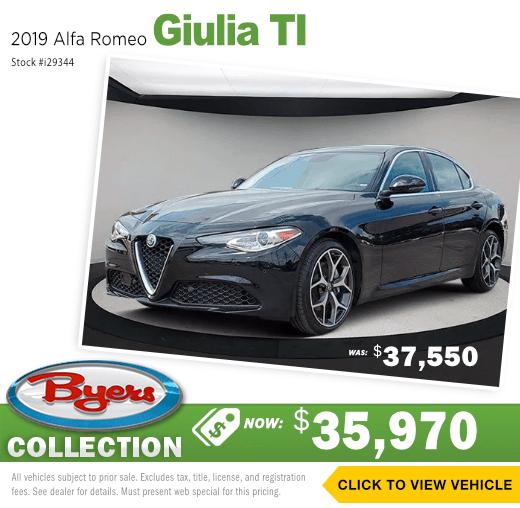 2019 Alfa Romeo Giulia TI Sales Special in Columbus, OH