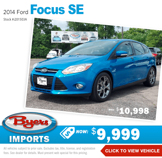 2014 Ford Focus SE Pre-Owned Special in Columbus, OH