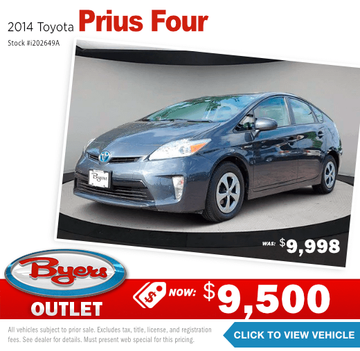 2014 Toyota Prius Four Pre-Owned Special in Columbus, OH