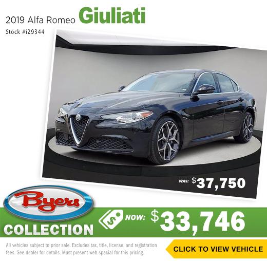 2019 Alfa Romeo Giuliati Pre-Owned Special in Columbus, OH