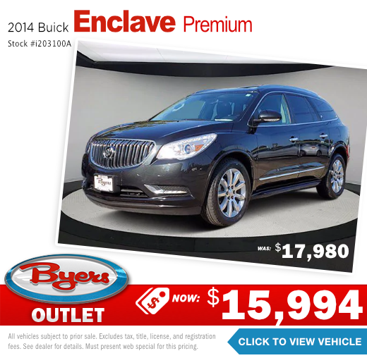 2014 Buick Enclave Premium Pre-Owned Special in Columbus, OH