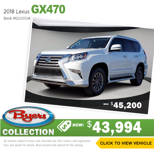 2018 Lexus GX470 Pre-Owned Special in Columbus, OH