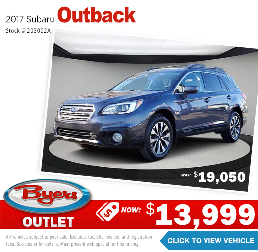 2017 Subaru Outback Pre-Owned Special in Columbus, OH