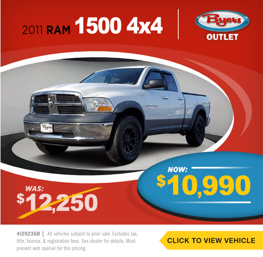 2011 RAM 1500 4x4 Pre-Owned Special in Columbus, OH