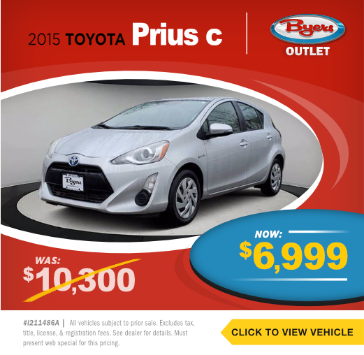 2015 Toyota Prius c Pre-Owned Special in Columbus, OH