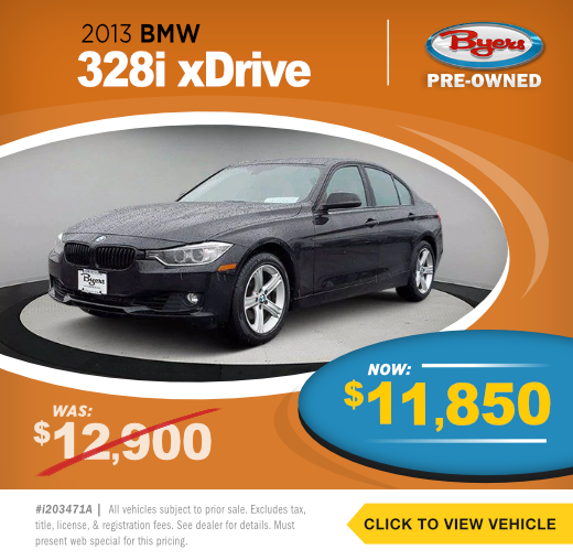 2013 BMW 328i X Drive Pre-Owned Special in Columbus, OH