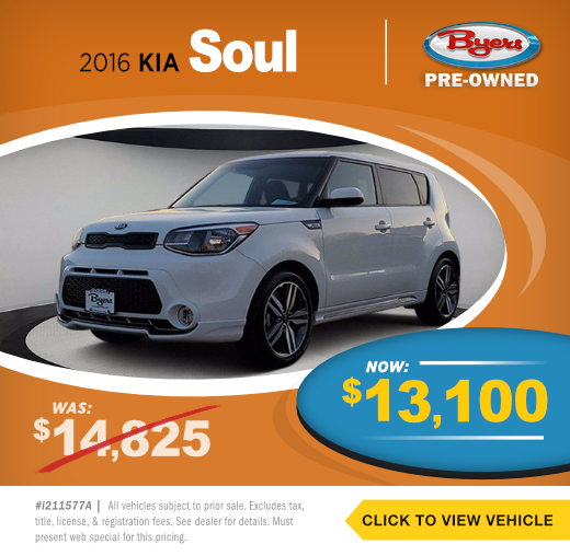2016 KIA Soul Pre-Owned Special in Columbus, OH