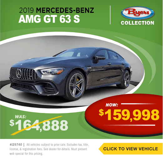 2019 Mercedes Benz AMG GT 63 SPre-Owned Special in Columbus, OH