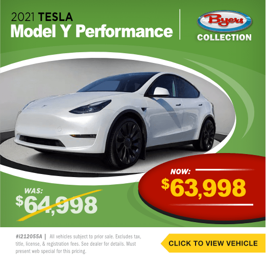 2021 Tesla Model Y PerformancePre-Owned Special in Columbus, OH