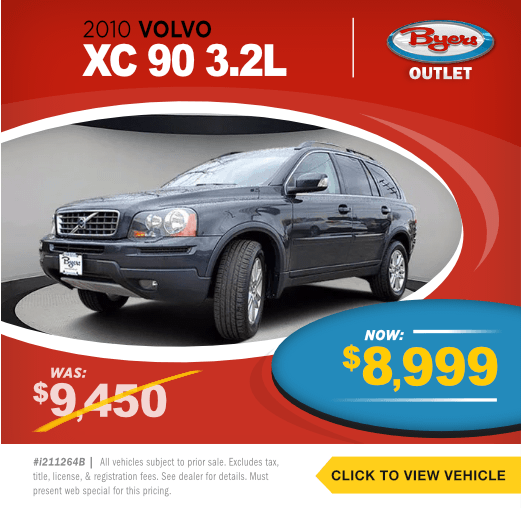 2010 Volvo XC 90 3.2LPre-Owned Special in Columbus, OH