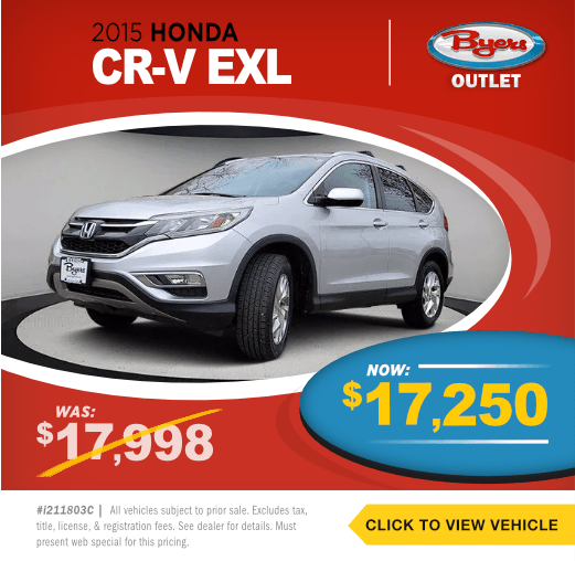 2015 Honda CRV EXLPre-Owned Special in Columbus, OH