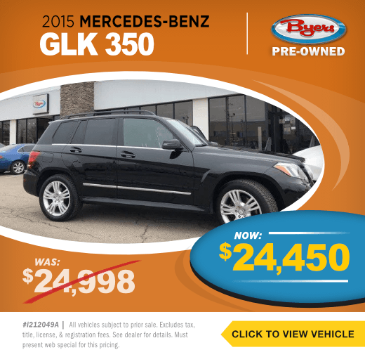 2015 Mercedes Benz GLK 350Pre-Owned Special in Columbus, OH