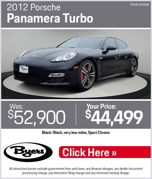 2012 Porsche Panamera Turbo Pre-Owned Special in Columbus, OH