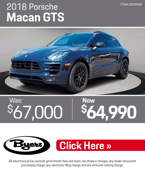 2018 Porsche Macan GTS Pre-Owned Special in Columbus, OH
