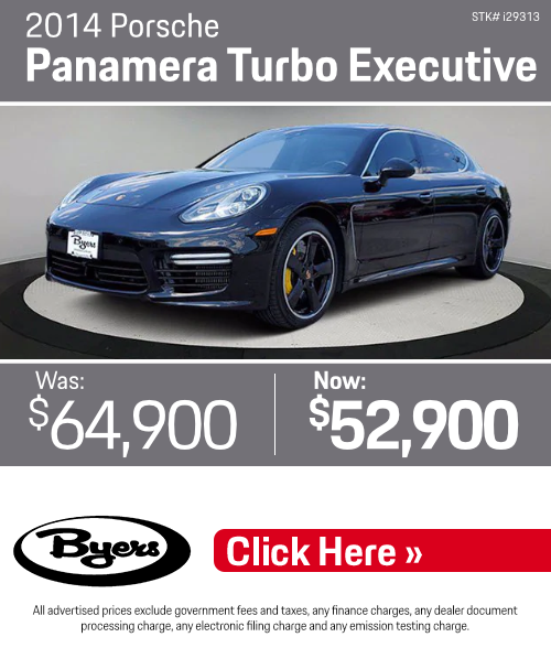 2014 Porsche Panamera Turbo Executive Pre-Owned Special in Columbus, OH