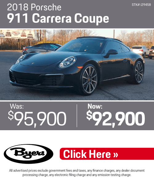 2018 Porsche 911 Carrera Coupe Pre-Owned Special in Columbus, OH