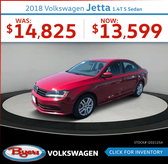 2018 Jetta 1.4T S Sedan Pre-Owned Special in Columbus, OH