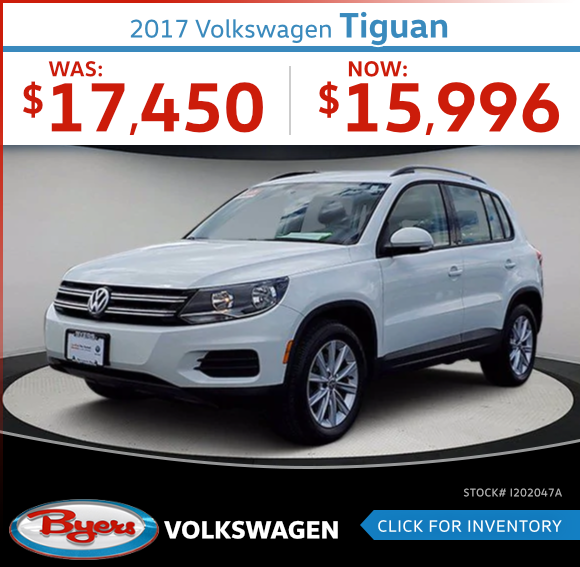 2017 Volkswagen Tiguan Pre-Owned Special in Columbus, OH