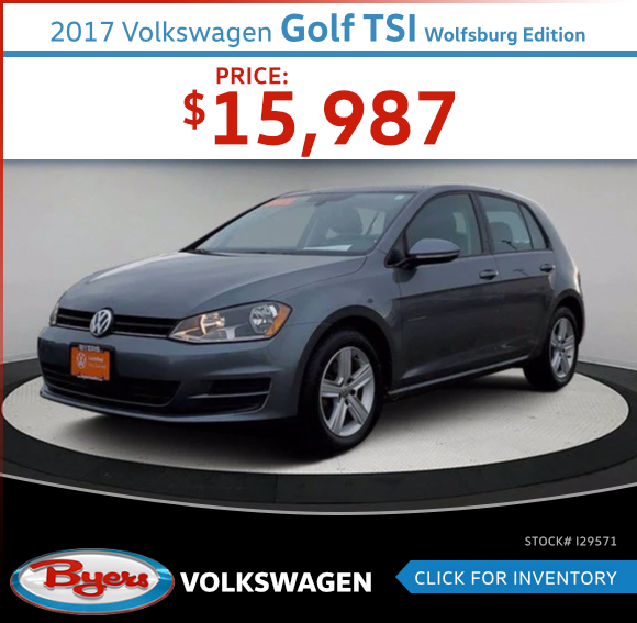 2017 Volkswagen Golf TSI Wolfsburg Edition Pre-Owned Special in Columbus, OH