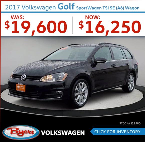 2017 Volkswagen Golf SportWagen TSI SE (A6) Wagon Used Car Special in Columbus, OH