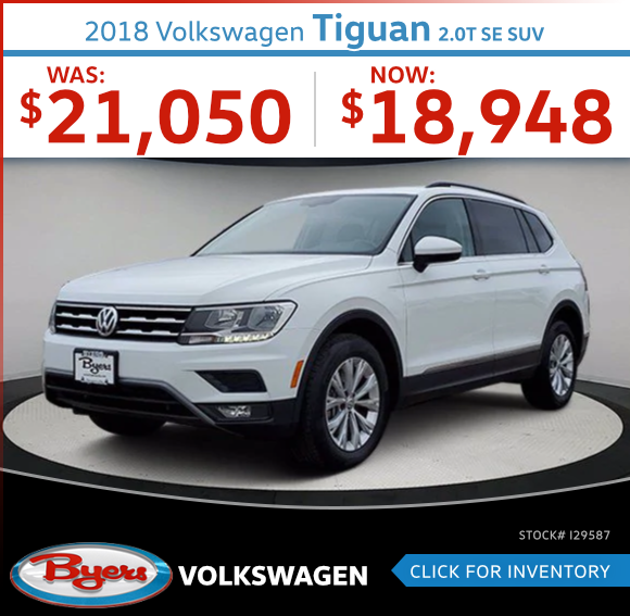 2018 Volkswagen Tiguan 2.0T SE SUV Used Car Special in Columbus, OH